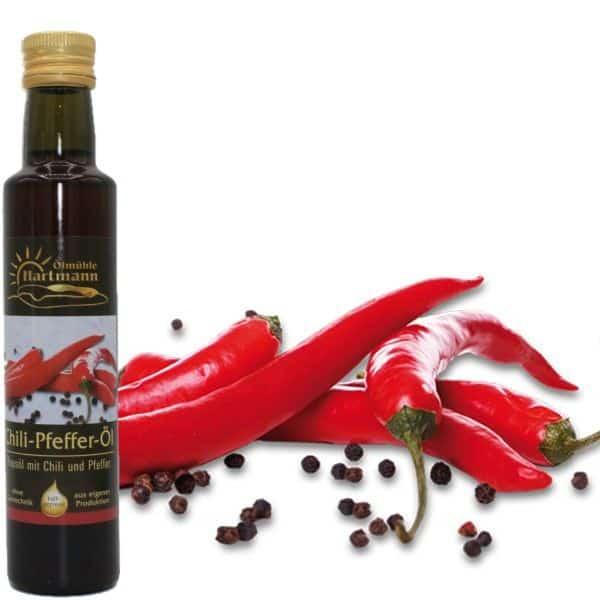 Chili-Pfeffer-Öl