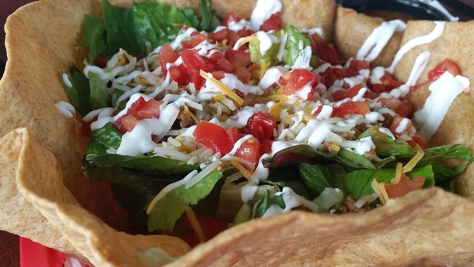 Mexican food: yummy salad