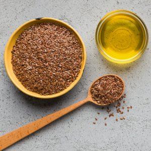 Omega 3 fatty acid concept